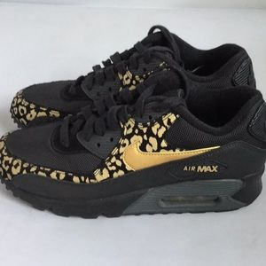 Nike Air Max 90 Leopard Print 7.5 EUC